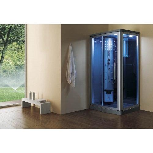 Cabine de douche hydromassante avec hammam AS-014