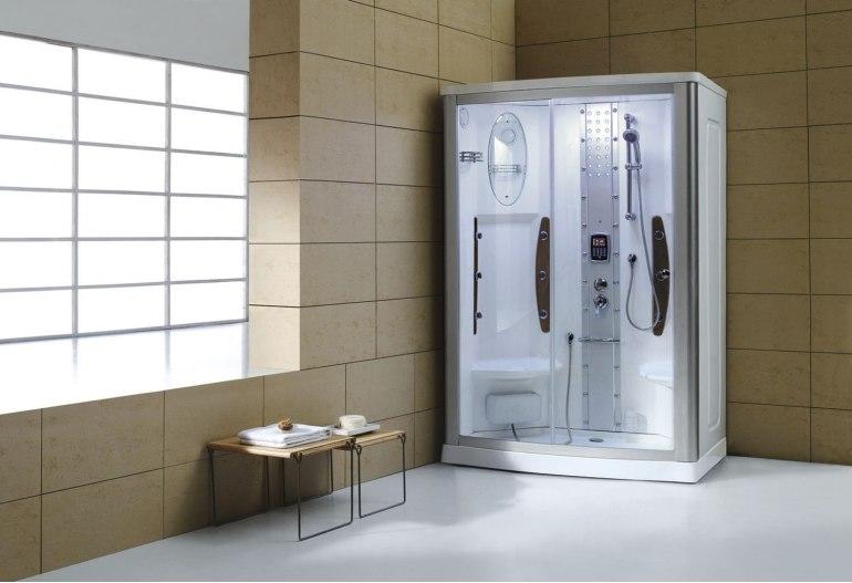 Fabuleux Cabine de douche hydromassante avec hammam AS-015 #VM_99