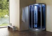Cabine de douche hydromassante avec hammam AS-020B