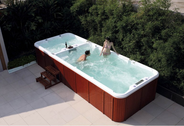 Piscine spa de nage AT-004