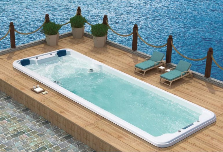 Piscine spa de nage AT-007B