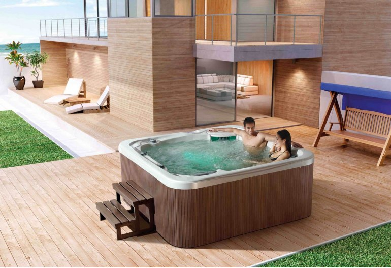 spa jacuzzi d 39 ext rieur at 014. Black Bedroom Furniture Sets. Home Design Ideas