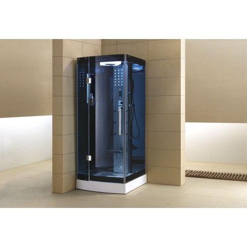 Cabine de douche hydromassante avec hammam AS-002B-2