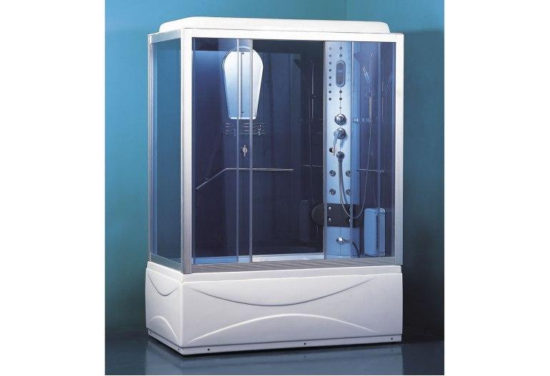 époustouflant Cabine de douche hydromassante avec hammam et baignoire AT-007B @MG_41