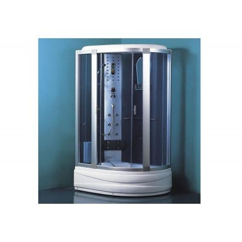 Cabine de douche hydromassante avec hammam et baignoire AT-005-1