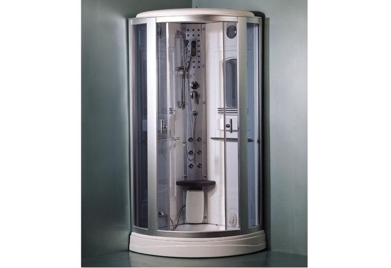 Cabine de douche hydromassante avec hammam AS-017-1