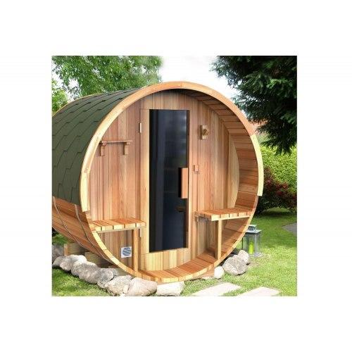 Sauna sec extérieur tonneau AF-002B