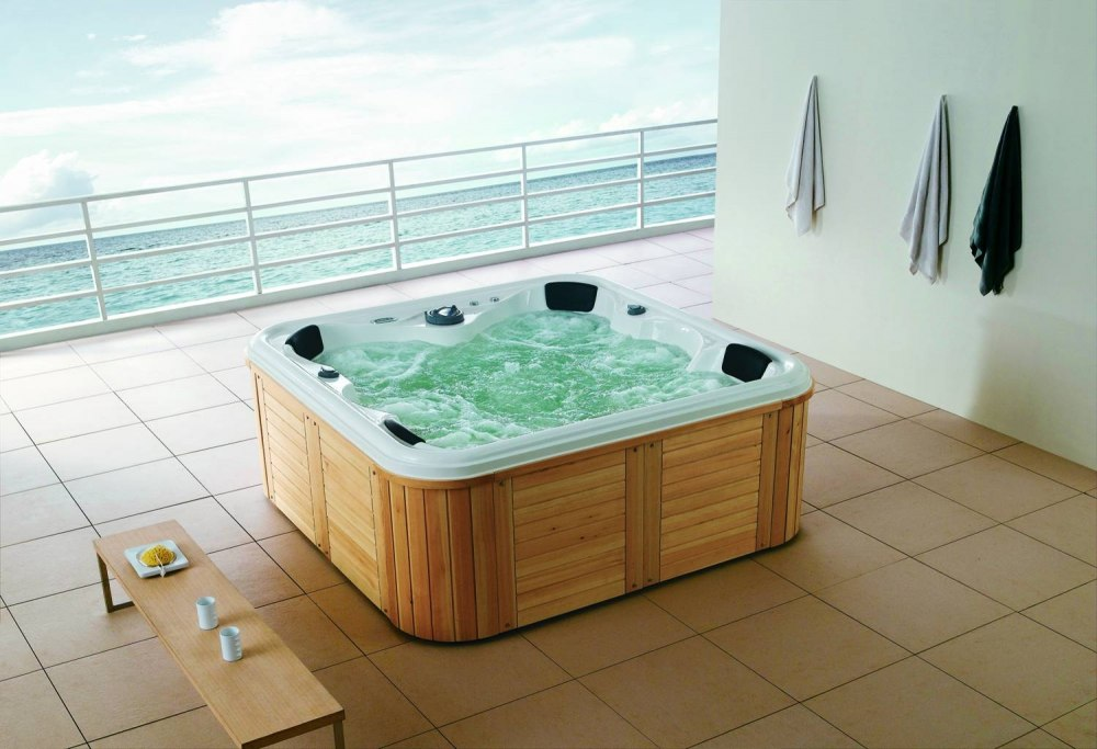 spa jacuzzi d 39 ext rieur as 001b. Black Bedroom Furniture Sets. Home Design Ideas