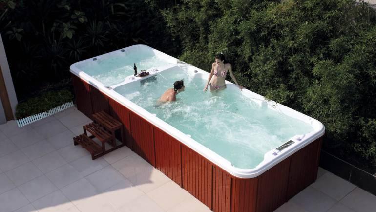 Spa de nage, l'une des meilleures acquisitions