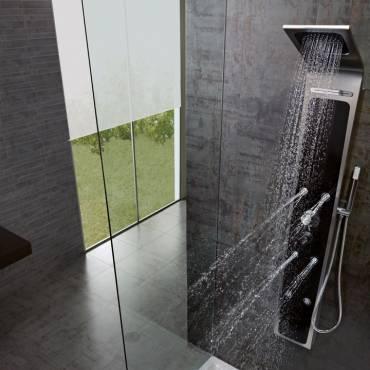 Colonne de douche: détente et bien-être