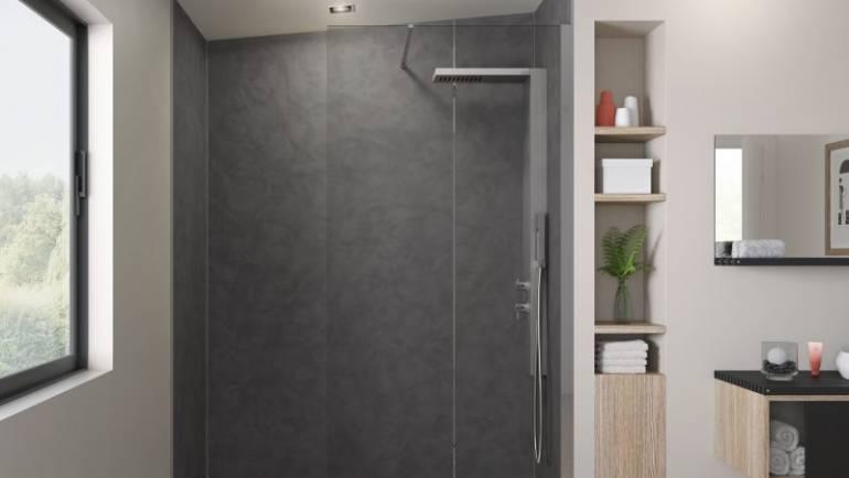 Facteurs d'achat: panneau de douche