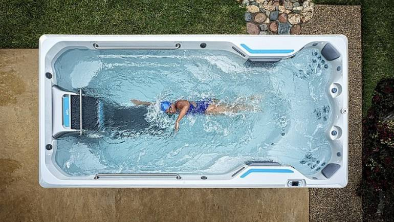 Spa de nage : La meilleure façon de s'entraîner sans quitter son domicile