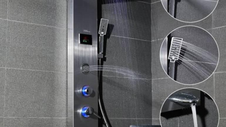 Tout ce que vous devez savoir sur le panneau de douche