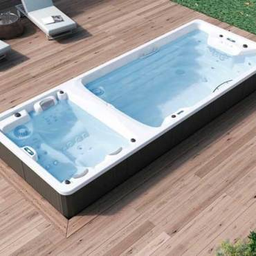 Terrasse ou jardin ? Où installer votre spa de nage