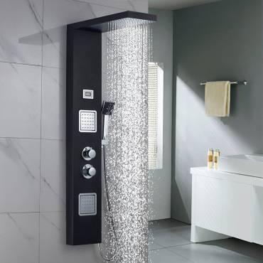 La source du bien-être : la colonne de douche à hydromassage