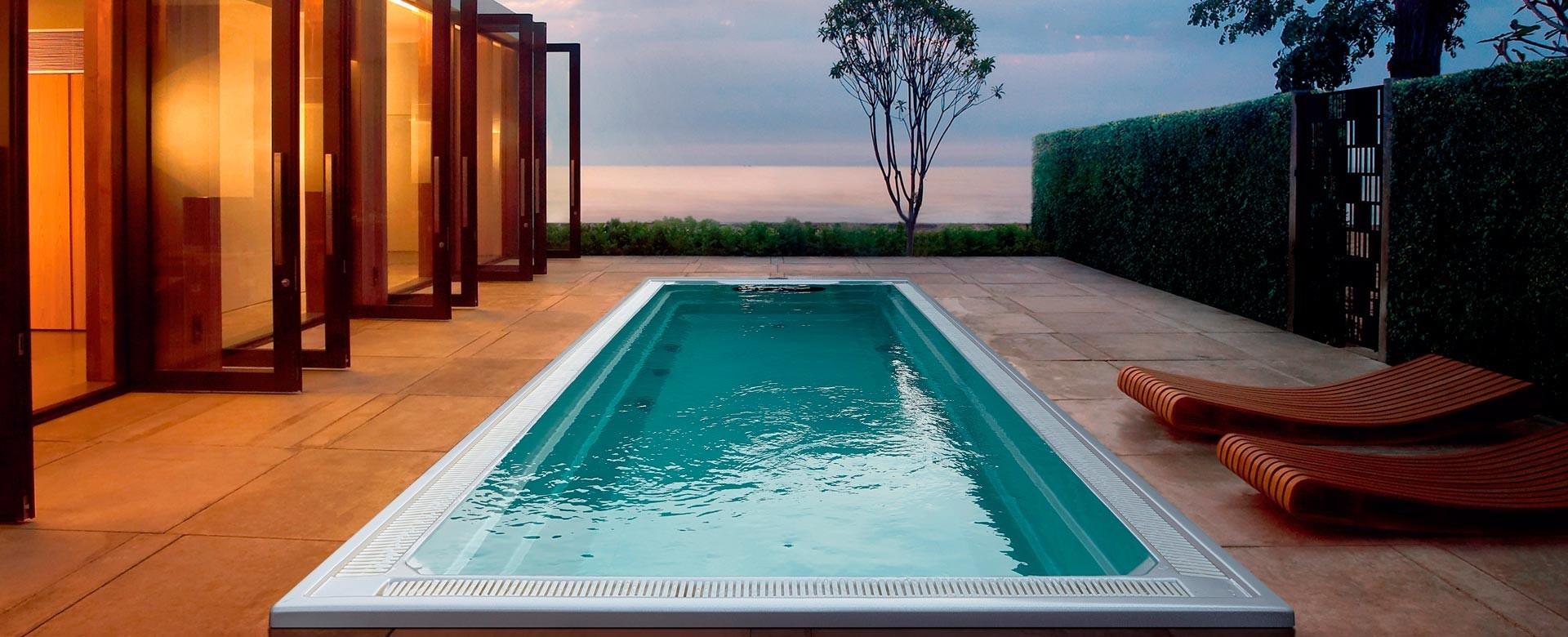 Piscines et spas de nage